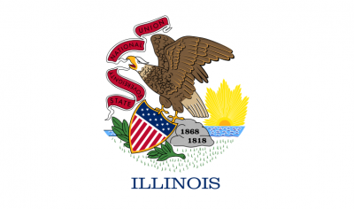 illinois flag 400x236 Illinois State Society Inaugural Gala